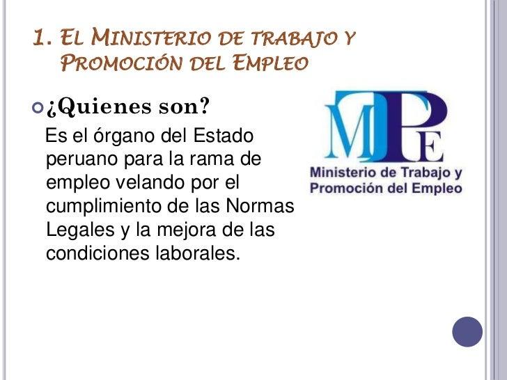 Organismos de trabajo for Ministerio del interior empleo