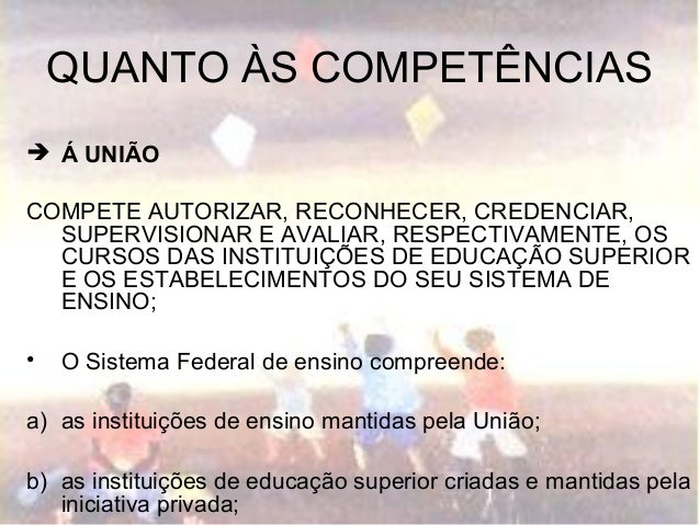 Organizaçao do sistema escolar brasileiro Slide 3