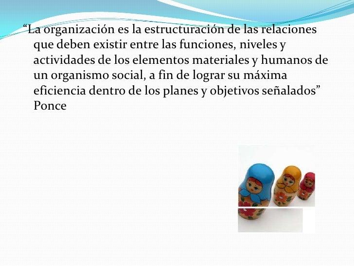 Organización Slide 2