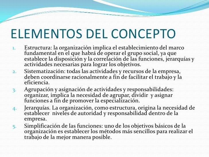 Organización Slide 3