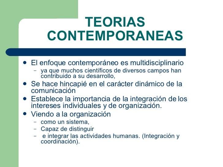 organizaci n caracteristicas y teorias
