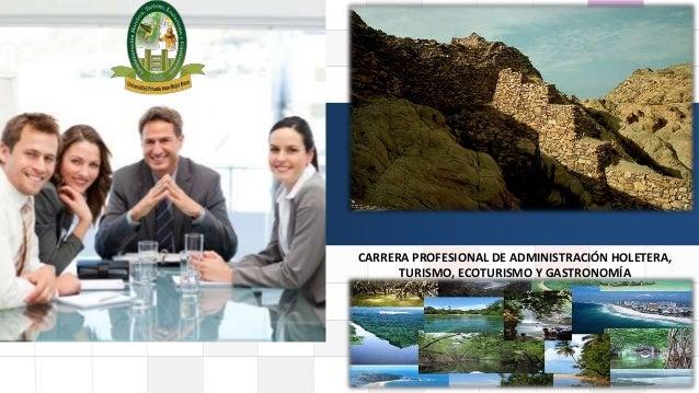 LOGO CARRERA PROFESIONAL DE ADMINISTRACIÓN HOLETERA, TURISMO, ECOTURISMO Y GASTRONOMÍA
