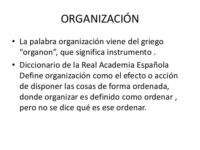 Organizaci N Clase 5
