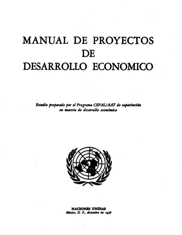Organización de las naciones unidas (onu), manual de