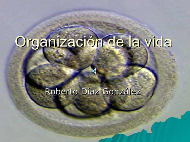 Organización de la vida Roberto Díaz González