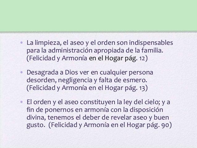 Organizaci n del hogar - Orden y limpieza en el hogar ...