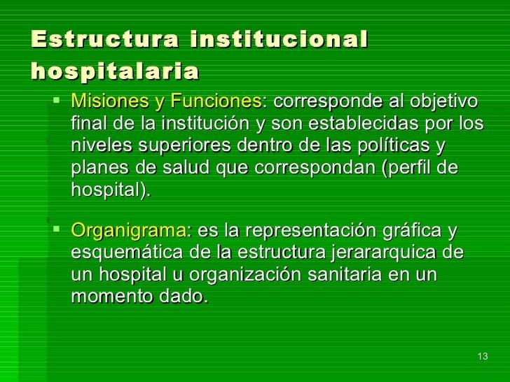 Organización y gestion hospitalaria