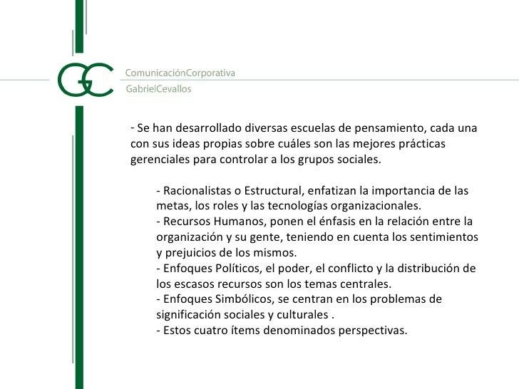 OBJETIVOS  -Cultivarhábitosmentalesyenriquecerelrazonamiento gerencial.  PROPIEDADESDELASORGANIZACIONES  -Pu...