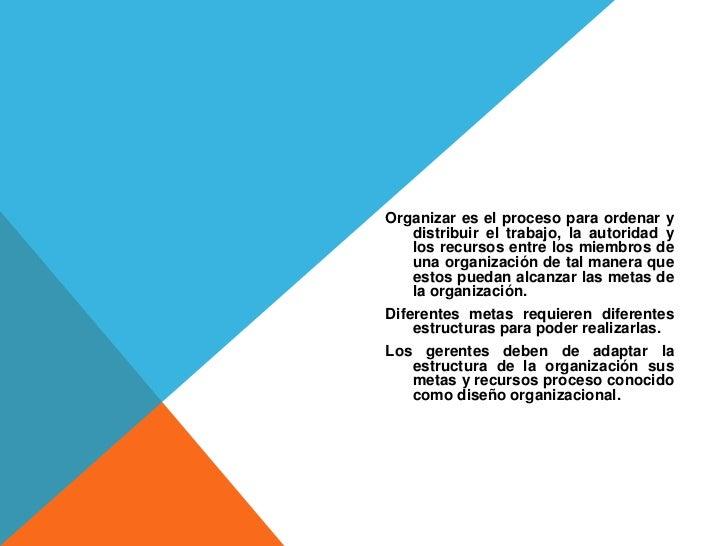 Organización Y Su Importancia