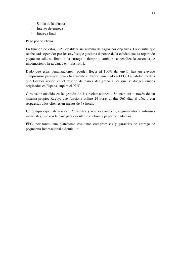 organizaciones postales internacionales