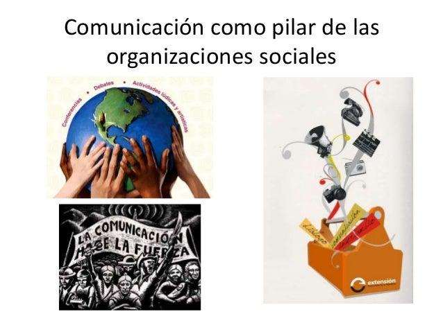 Organizaciones sociales Slide 2