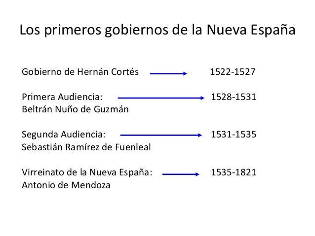 Organizacion Politica De La Nueva España