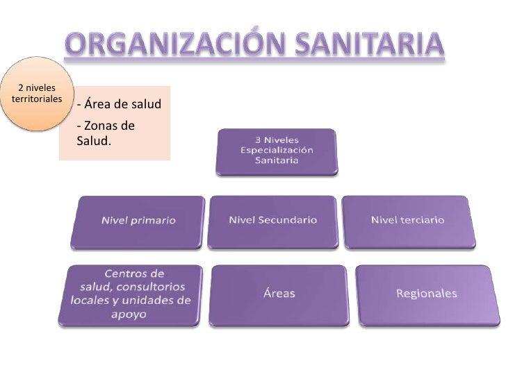 ORGANIZACIÓN SANITARIA<br />