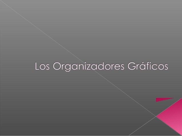    Los Organizadores Gráficos son técnicas de    estudio que ayudan a comprender mejor un texto.    Establecen relaciones...
