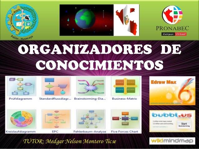 TUTOR: Medgar Nelson Montero Ticse