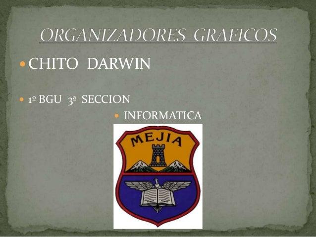 CHITO DARWIN 1º BGU 3ª SECCION INFORMATICA