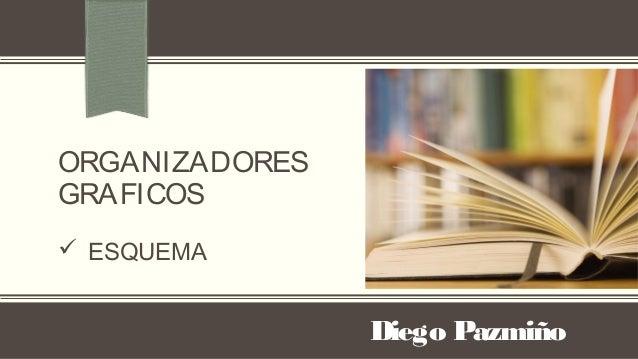 ORGANIZADORESGRAFICOS ESQUEMADiego Pazmiño
