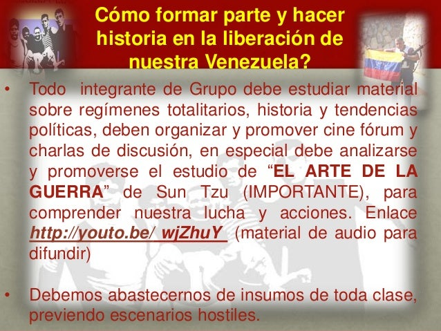 Cómo formar parte y hacer historia en la liberación de nuestra Venezuela? CUÁL ES EL MENSAJE DEL GENERAL VIVAS? • Todo int...