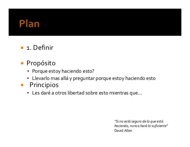 """""""Organízate con eficacia"""" Autor David Allen – Ediciones Uranohttp://www.davidco.com/"""