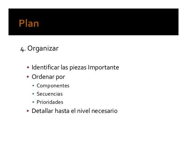Organizate eficazmente
