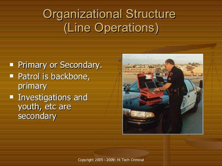 organizational behavior in a law enforcement agency essay At the same time, it is widely recognized that law enforcement agencies, which   of the executive branch and the law enforcement organizations under its control   based on political ideology rather than on evidence of criminal behavior.