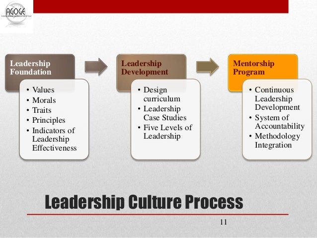 Role of an Organizational Leader