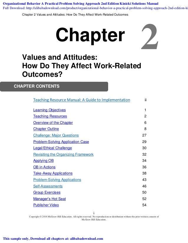 challenges for organisational behaviour in detail