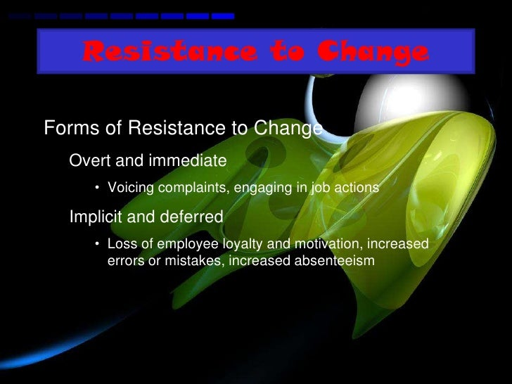 resistance to change and stress Events and life circumstances as well as learned behaviors and styles of coping can present personal obstacles or barriers that create stress, anxiety, or feeling down.