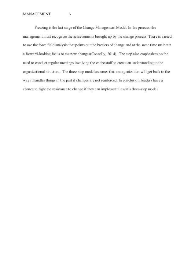 organizational and individual causes of resistance to change essay s