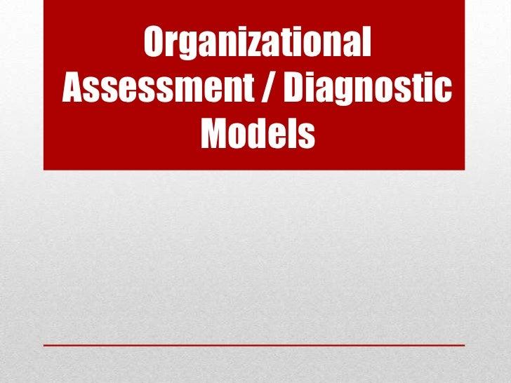 OrganizationalAssessment / Diagnostic       Models