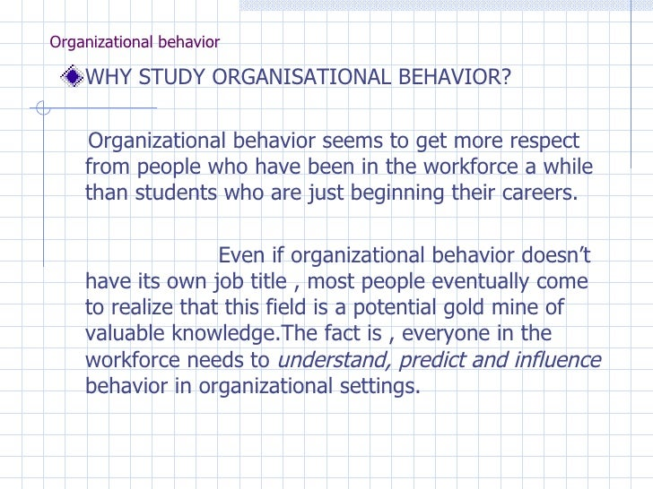 "hawthorne studies organisational behaviour Hawthorne studies become the foundation and the basis of human relations  the term ""hawthorne"" is a term used within several behavioral  a new milestone in organisational behavior was set and elton mayo and his."