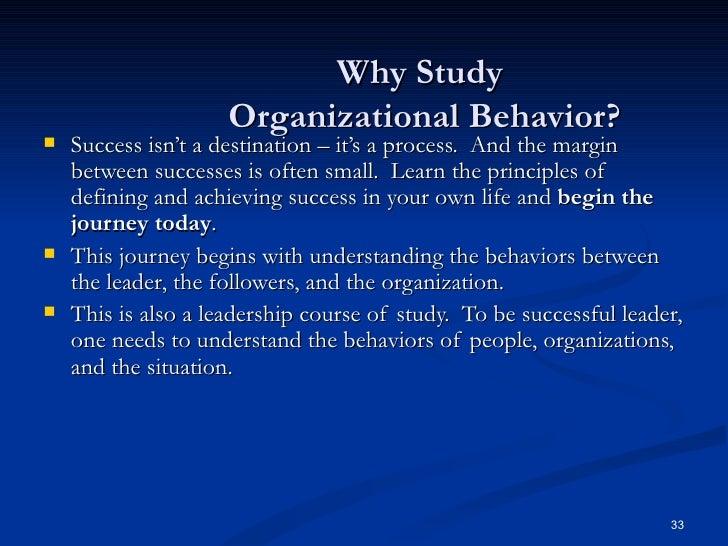 Chapter 1 Organizational Behaviour - SlideShare