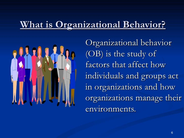organization and behaviour essay Free research paper essay example on organizational behavior.