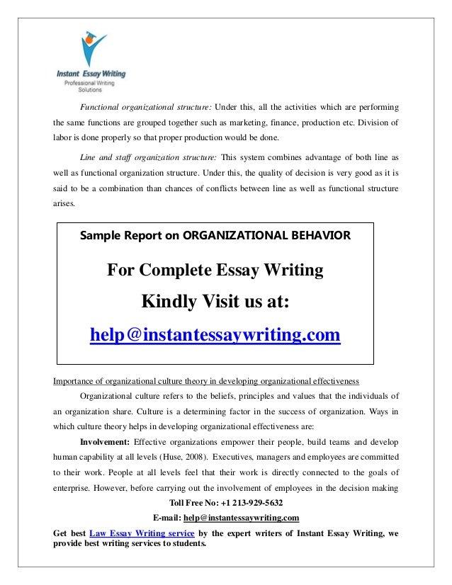 Essay on Organizational Development | Management
