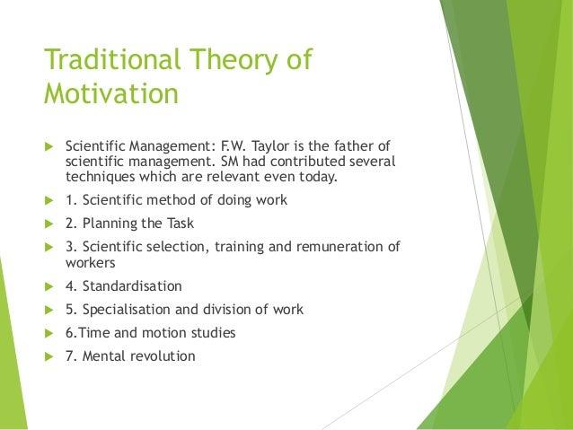 is scientific management relevant today