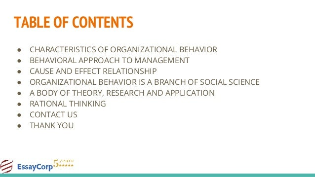 org behavior chapter 3 assignment Chapter 1 - introducing contemporary organizational behaviour chapter 2 - the social nature of work chapter 3 - studying work and organizations chapter 4 - personality and self-identity chapter 5 - perception and emotions chapter 6 - motivation chapter 7 - learning chapter 8 - class, gender, race and equality.
