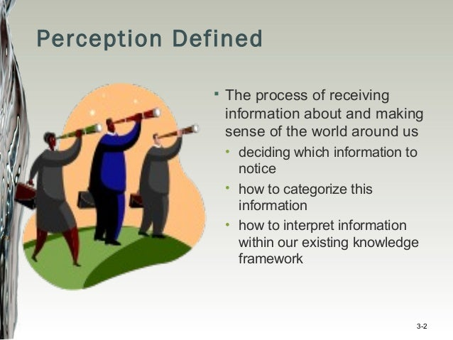 perception and attribution in organizational behaviour pdf