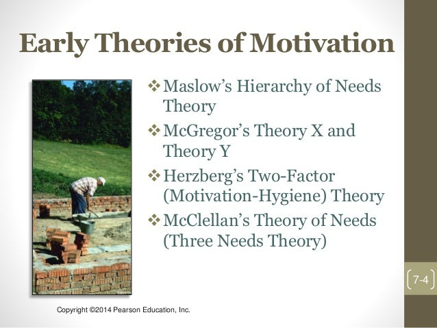 theories of motivation and stress in organisations Maslow's needs hierarchy was developed to explain human motivation in general however, its main tenants are applicable to the work setting, and have been used to explain job satisfaction within an organisation, financial compensation and healthcare are some of the benefits which help an employee.