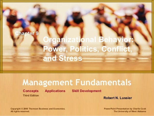 Management FundamentalsConceptsCopyright © 2006 Thomson Business and Economics.All rights reserved.Skill DevelopmentApplic...