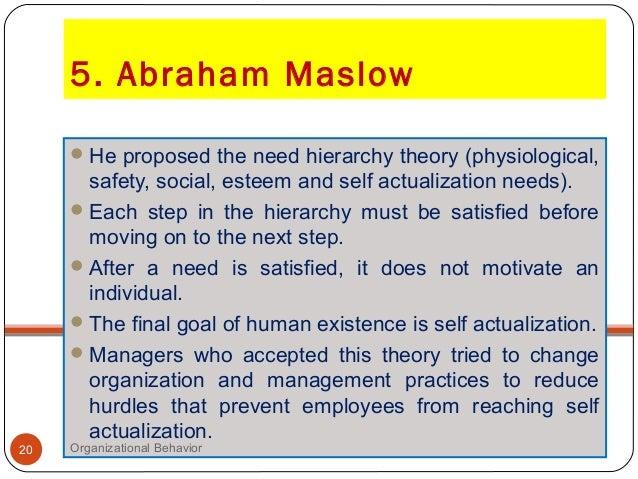 contribution of organizational behavior