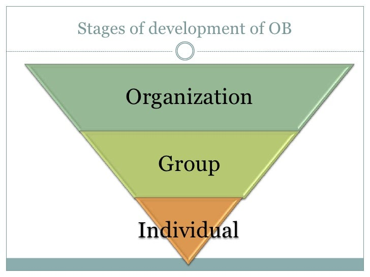 historical development of organisational behaviour Although some historical accounts attribute the development of obm to influences from  the historical roots of organizational behavior management in the.