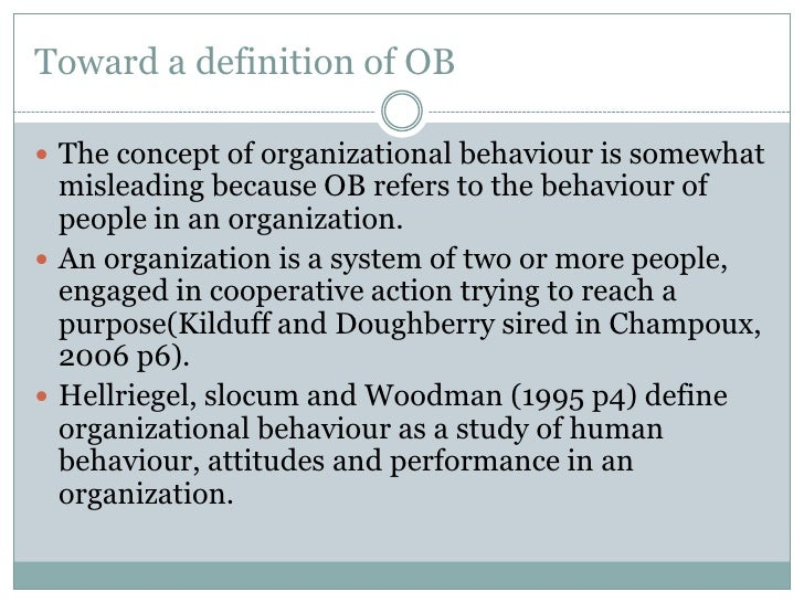 the issues of organization behavior and organization development Organizational behavior is the study and application of knowledge about how people organization development teams of learners with diverse backgrounds conduct field projects on complex organizational problems that require the use of skills learned in formal training sessions.