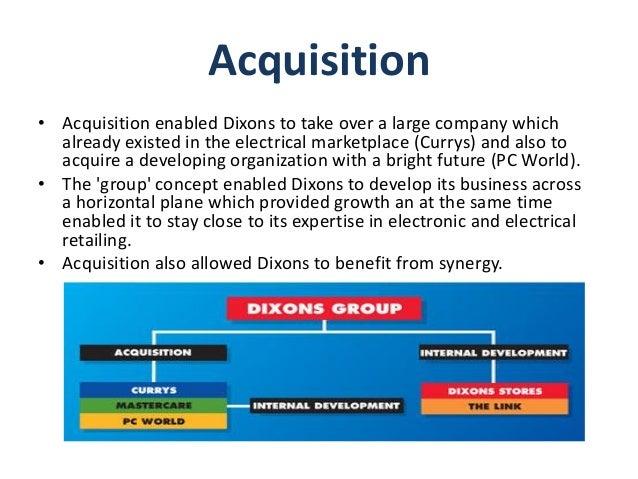 Dixon corporation case analysis