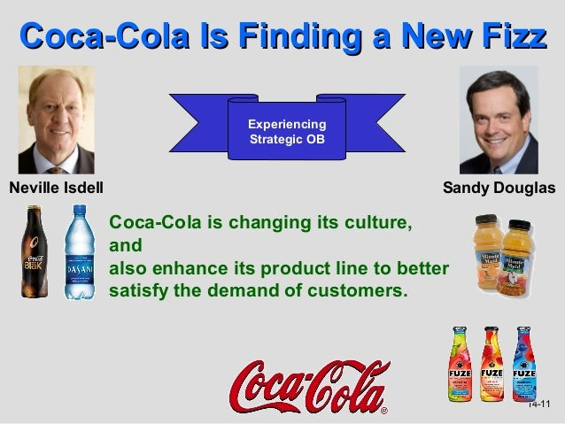 Coca-Cola Is Finding a New Fizz                                Experiencing                                Strategic OBNev...