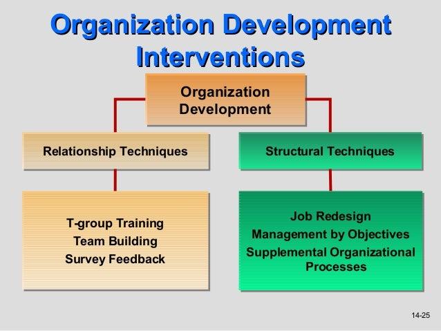 compare and contrast organization development and organization transformation