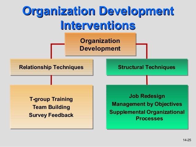 Eight Steps for Organizational Development Interventions