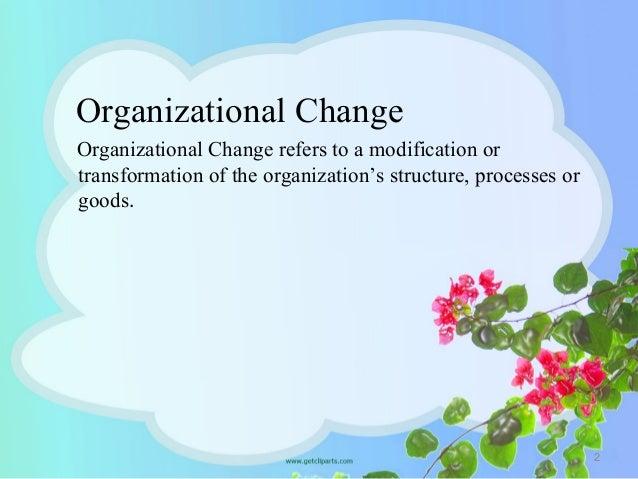 Organizational change & development Slide 2