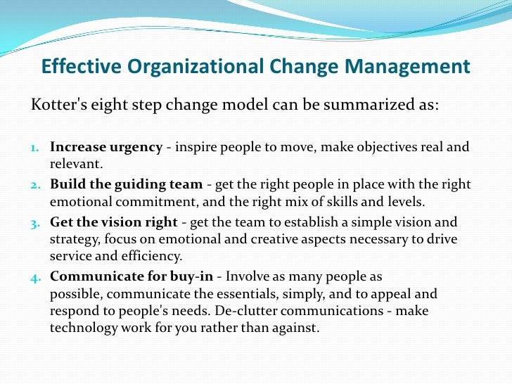 organizational change management theory Explaining development and change in organizations tiveness of alternative theories of organizational change and explaining development and change in.