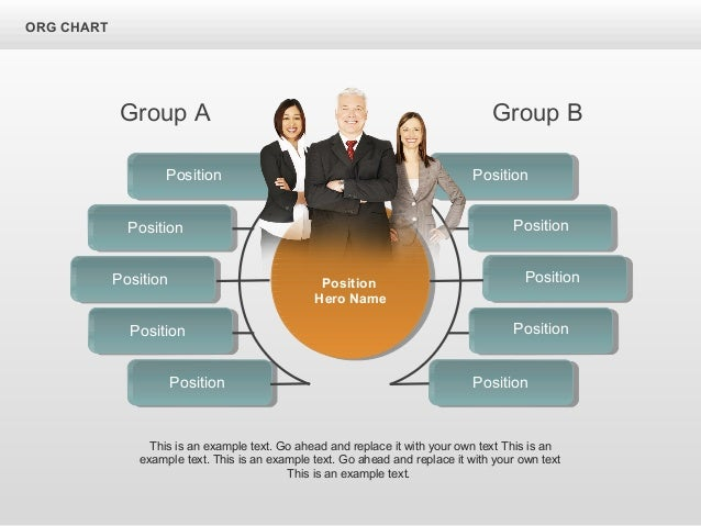 Group A Group B This is an example text. Go ahead and replace it with your own text This is an example text. This is an ex...