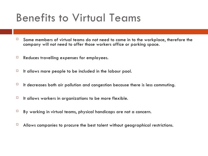 the organizational benefits of team Download citation on researchgate   the organizational benefits of teams   this study presents an analysis of the benefits of two team structures - quality circles and self-managing work groups .